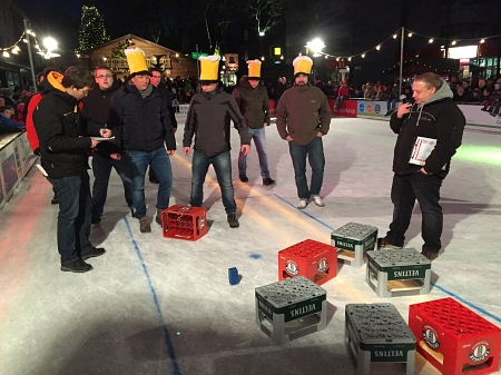 Bierkastencurling 2014 © Stadtmarketing Georgsmarienhütte e.V.