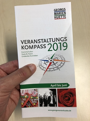 Kompass II/2019 Heft in Hand © Stadtmarketing Georgsmarienhütte e.V.