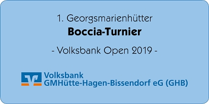 Logo Volksbank Open 2019 © Stadtmarketing Georgsmarienhütte e.V.