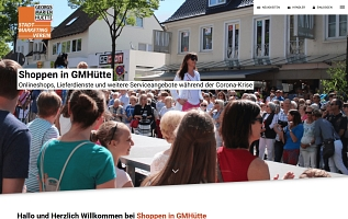 Portal Shoppen in GMHütte © Stadtmarketing Georgsmarienhütte e.V.