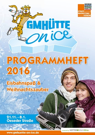 Programmheft GMHütte on Ice 2016 Titel © Stadtmarketing Georgsmarienhütte e.V.